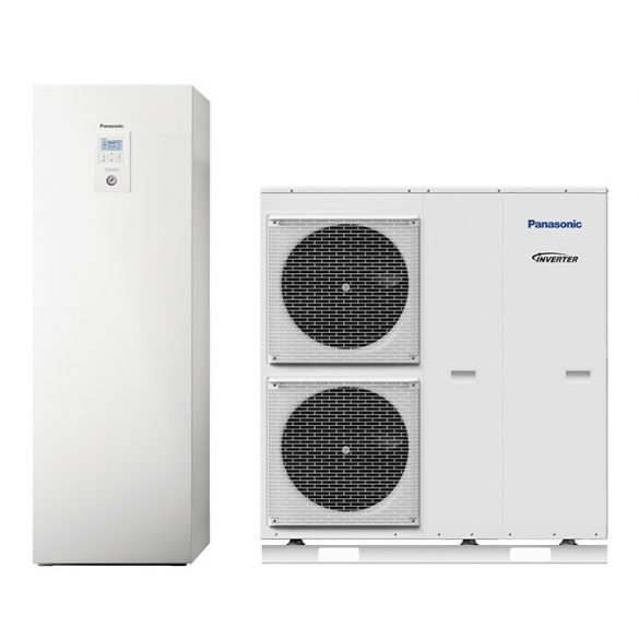 Panasonic Aquarea 12 kW T-CAP, All in One osztott hőszivattyú 3~ csendesített