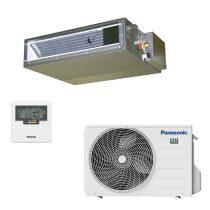 Rejtett (légcsatornázható) 2,5 kW-os inverteres klíma