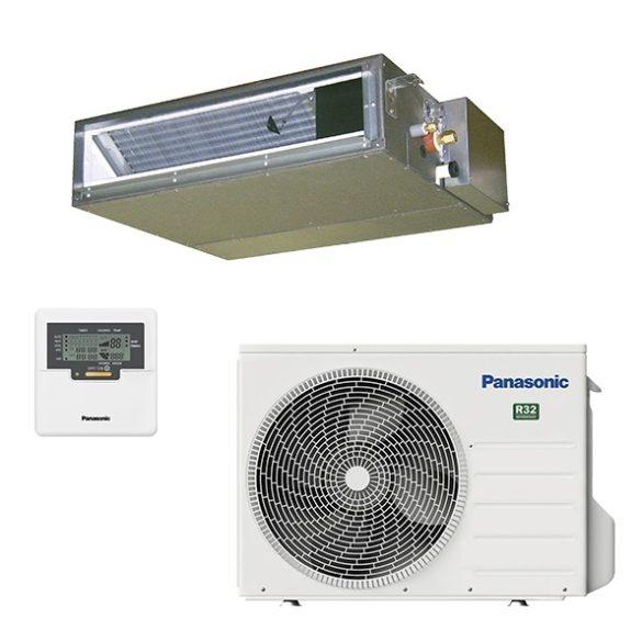 Rejtett (légcsatornázható) 3,5 kW-os inverteres klíma