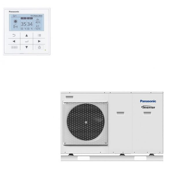Panasonic Aquarea LT 09 kW monoblokk hőszivattyú 1~
