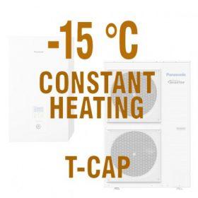 T-CAP hőszivattyúk - 100% fűtés -15°C-ban is